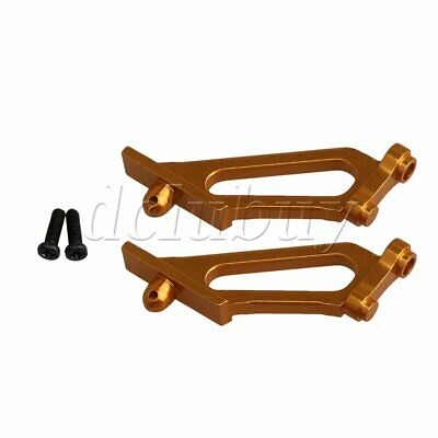 2 Packs Alloy RC1:10 Yellow Wing Support Stay Mount for Himoto Buggy Car