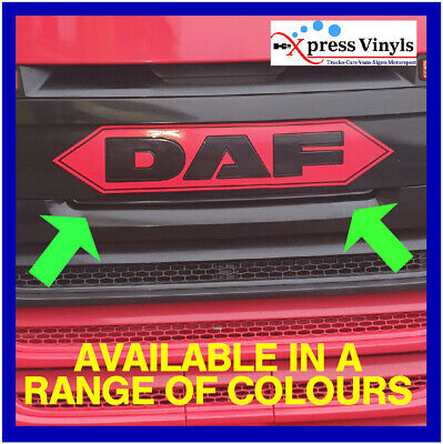 Daf body decal classic style truck graphic sticker XF CF