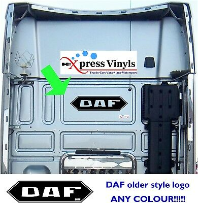 DAF truck decal sticker graphic LF XF CF ANY COLOUR!!