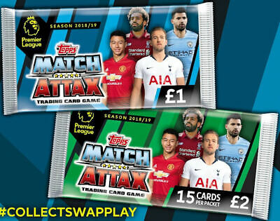 Match Attax 18/19 Premier League 2018/19 100 Club Cards