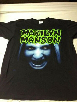 Marilyn Manson L T-Shirt;This Is Your World In Which We Grow Gildan New All Size