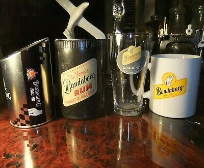 Bundy Rum Cup, Glass And Stubby Holders