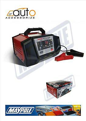 Maypole 12A /75A Engine Start 12V 24V Automatic Workshop Charger Mp7212