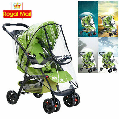 Plus Size Rain Cover Raincover for Universal Hauck Shopper Sport Buggy Pushchair