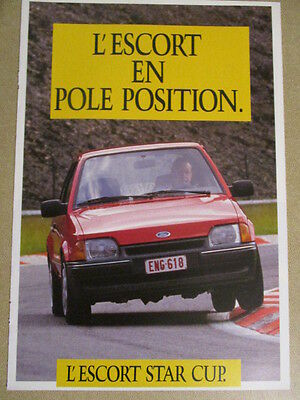 Catalogue Auto : Ford : Ford Escort Star Cup
