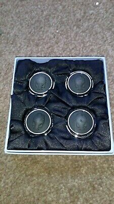 Wedgewood Cardholders Set Of Four New In Box