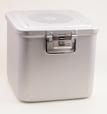 #1755 Aesculap JK346 / JK389 Sterilcontainer m. Filterhalter / Container Size1/2