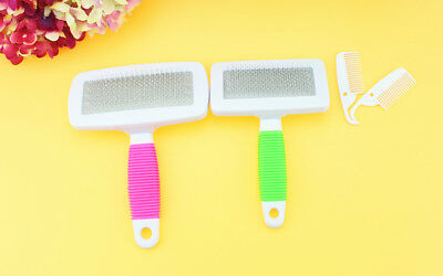 Hot Handle Shedding Pet Dog Cat Hair Brush Pin Fur Grooming Trimmer Comb Tools