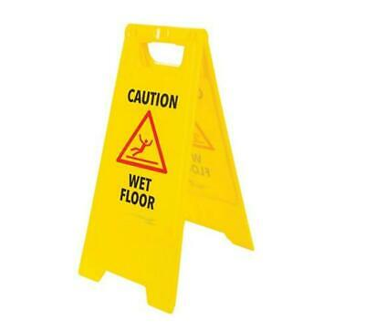 A Frame Stand Quality Professional Caution Wet Floor Sign 610 x 295mm Full Size