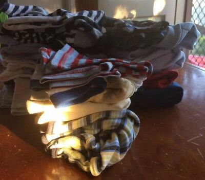 Baby Clothes Mixed Lot Jumpsuits Tops Pant Jackets Vest 18 Items Size-0000-00