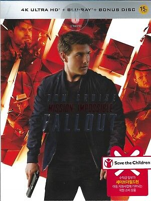 Mission: Impossible: Fallout 4K U'Mania Selective Ltd. SteelBook (Korea Import)