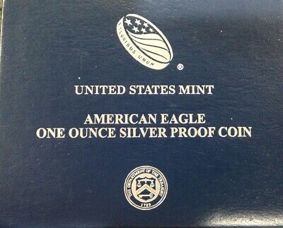 2015-W American Eagle One Ounce Silver Proof Uncirculated Coin In Box Coa Es6