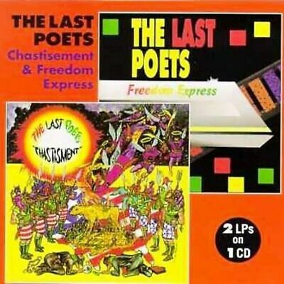 The Last Poets * Chastisement & Freedom Express * New & Sealed * 2 Lp's On 1 Cd
