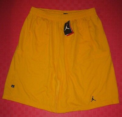 3b93ced4691f Nike Jordan Sport Cut Bankroll Basketball Shorts 427579 740 Medium Yellow  Nwt