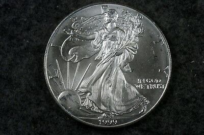 Estate Find 1999 - American Silver Eagle!!! #H6731