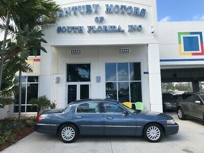 2005 Lincoln Town Car  Leather CD A/C Alloy Wheels Backup Sensors Power Windows