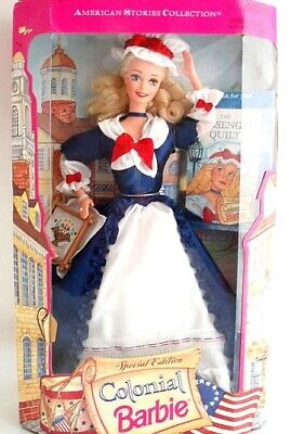 BARBIE 1994 COLONIAL American Stories Collection Special Edition NRFB