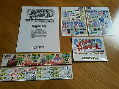 BRAND NEW Capcom CPS2 Super Street Fighter II Original PCB arcade flyer marquee