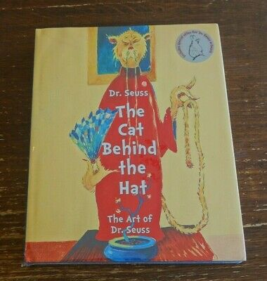 DR. SEUSS: THE CAT BEHIND THE CAT hardcover! SEALED BRAND NEW!