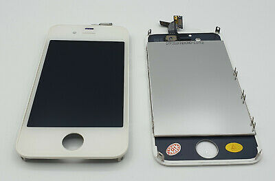 iPhone 4S 4 S Display Touchscreen LCD Touch Front Scheibe Glas Komplett Weiss