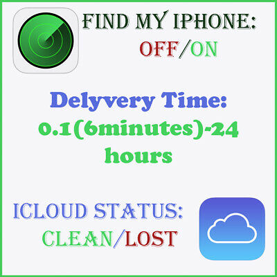 Find My iPhone CHECK and iCloud Status CKECK