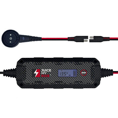Mercedes Benz SLS AMG 4.3A Battery Charger Tender Conditioner & Custom Adapter