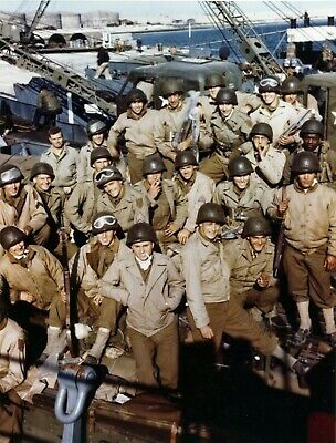 US Army D-Day Landing June 1944 #103 WW2 WWII Other Sizes