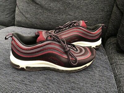 MEN'S NIKE AIR Max 97 Ultra Noble Red UK size 11 Used