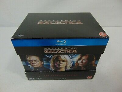 Battlestar Galactica: The Complete Series Blu-ray Collection USED