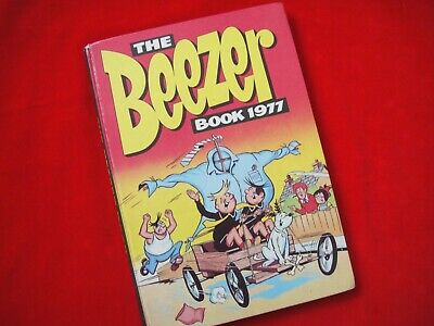 The Beezer Annual 1977 ~ Ginger~Pop Dick & Harry~Colonel Blink~Numskulls~Young S