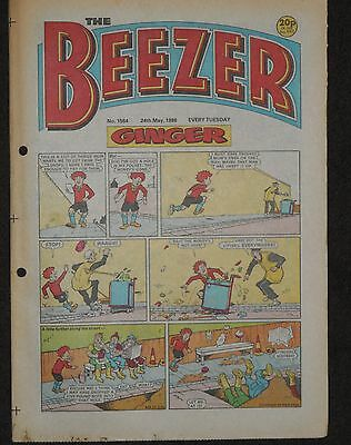 The Beezer Comic 24th May 1986 (Issue 1584)