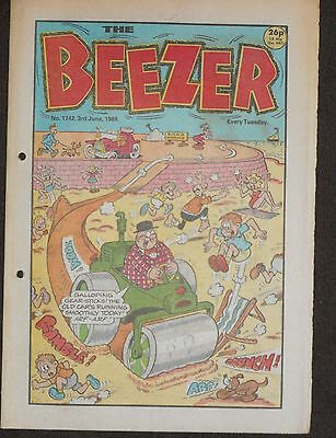 The Beezer Comic 3rd June 1989 (Issue 1742)