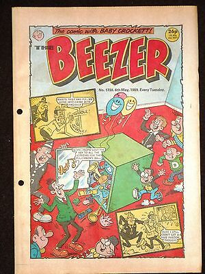 The Beezer Comic 6th May 1989 (Issue 1738)