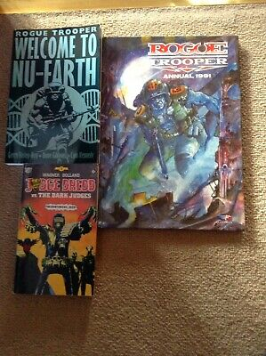 Rogue Trooper Annual 1991 & 2000ad Graphic Paperbacks