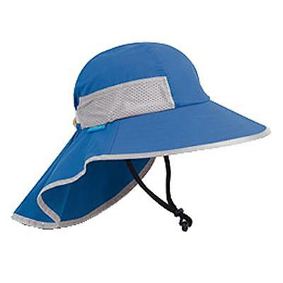 7f59cc398eb SunDay Afternoons PLAY HAT KID Sun Protection Hat Royal 5-9 years Lg NEW