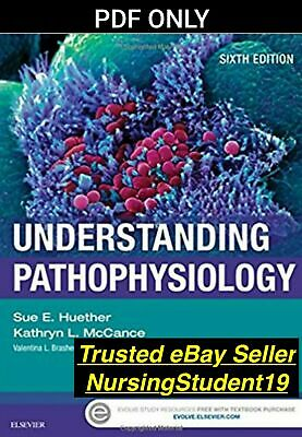 Huether UNDERSTANDING PATHOPHYSIOLOGY 6th Sixth Edition (PDF) **FAST DELIVERY**
