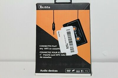 Reshow Car Audio aux Cassette Adapter *Ships from USA* Free Shipping