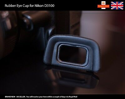 Rubber Eye Cup / Eyecup / Eyepiece / Viewfinder for NIKON D3100 Camera