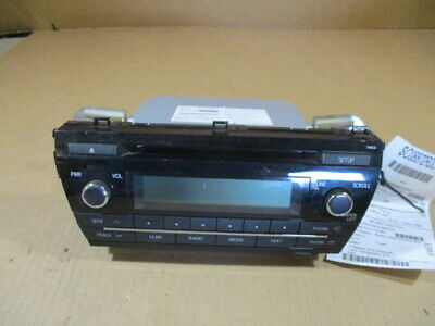 2014 2015 2016 14 15 16 Toyota Corolla Radio Display