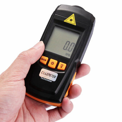 LCD Laser Tachometer RPM Test Meter Digital Motor Speed Gauge Handheld