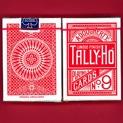 Tally Ho Bicycle Playing Cards Ohio Vintage New
