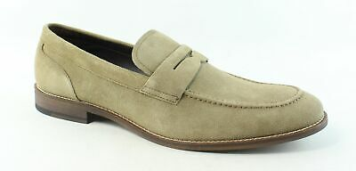 baa8f3a84c2 Rush by Gordon Rush Mens Vincent Sand Suede Loafers Size 11