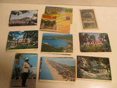 Mixed Lot Vintage Postcards 1940's thru 1960's New & Used