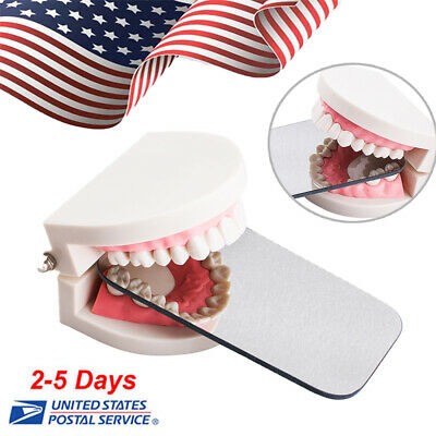 Dental Intraoral Orthodontic Photographic Glass Mirror 2 sided Occlusal clinic
