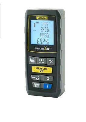 General Tools TS01 ToolSmart Bluetooth Connected Laser Distance Measure NIB NEW