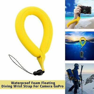 Underwater GoPro Waterproof Camera Hand Grip Float Foam Floating Wrist Strap