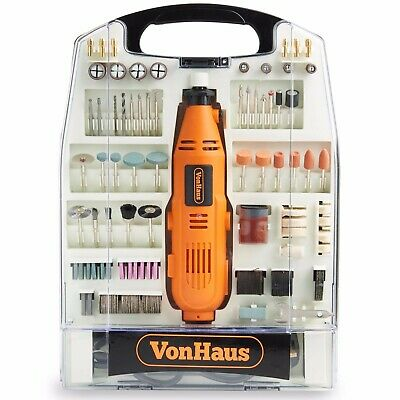VonHaus 135w Rotary Multi tool 234pc Accessory Set DREMEL Compatible