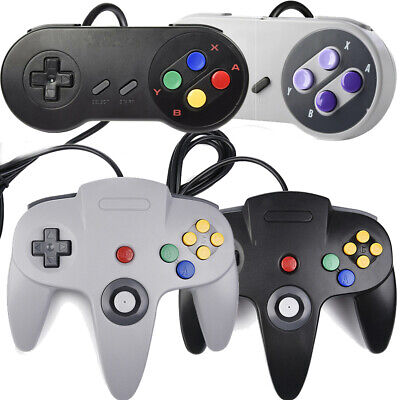 N64/SNES Wired USB Controller Retro Gaming Joystick Joypad Gamepad For Nintendo