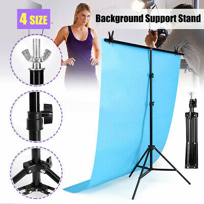 4 Sizes Adjustable Background Support Stand Photo Studio Backdrop Crossbar
