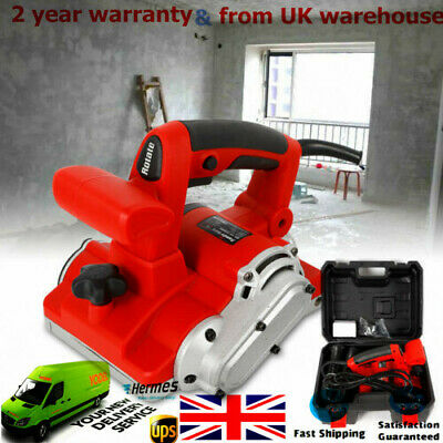 Electric Handheld Brick Wall Chaser Floor Wall Groove Cutting Machine 1600W 220V